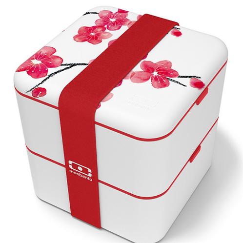 Monbento Square Graphic Lunch Box - Blossom