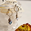 Thumbnail: Swarovski Crystal Heart with Leaves Earring