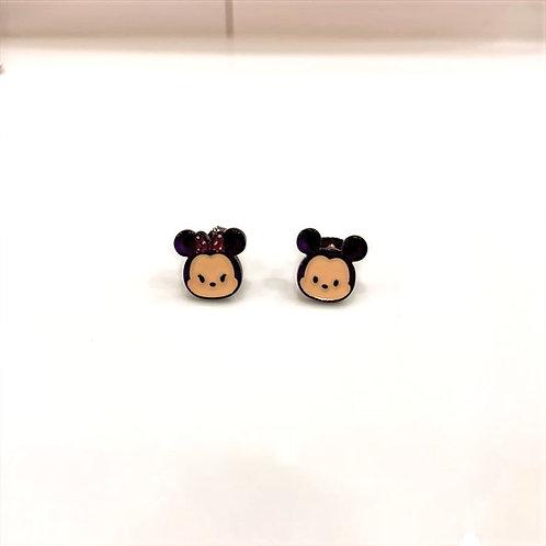 MOOII Ear-stud Baby Minnie and Mickey