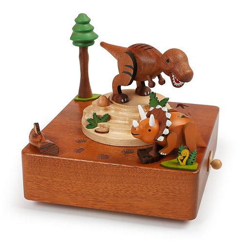 Wooderful life T-Rex Music Box