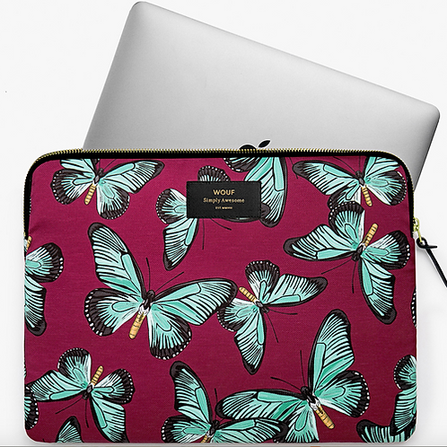 WOUF Laptop Sleeve Butterfly 13""