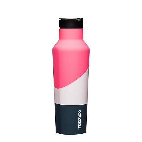 Corkcicle Colour Block Sports Canteen 600ml - Electric Pink