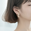 Thumbnail: Butterfly Link Drop Earrings - Mooii