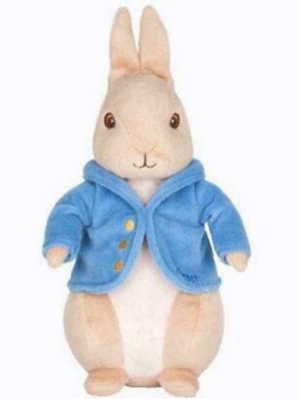 Soft Toy: Silky Beanbag Peter Rabbit Plus