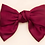 Thumbnail: Mooii Hand-Made Fabric Bow Tie French Barrette