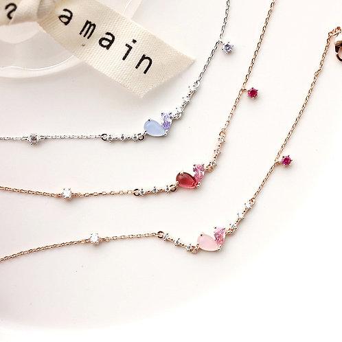 Camille Love Heart Bracelet