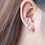 Thumbnail: Tree Sprout Asymmetric Sterling Silver Earrings - MOOII