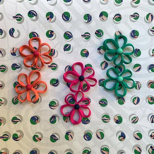 MOOII Colourful Flowers Earrings