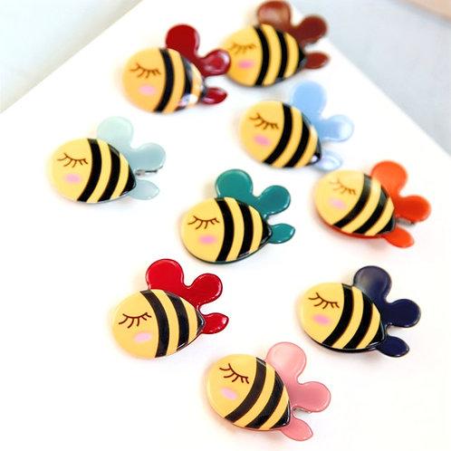 MOOII Little Bees Resin Hair Clip