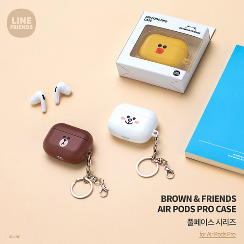 Line Friends Brown and Friends Airpods Pro Case