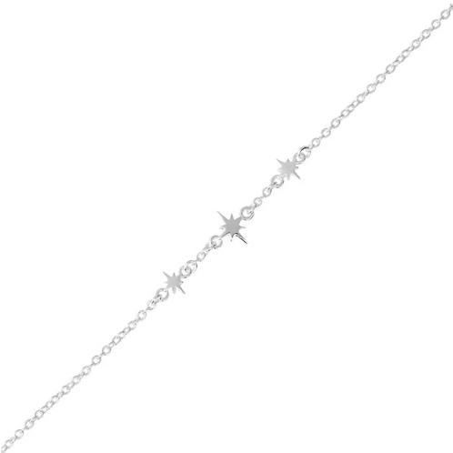 Celestial Star Sterling Silver Bracelet