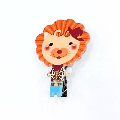 MOOII Resin Hair Clip Little Lion