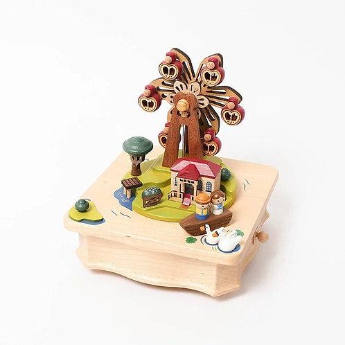 Wooderful Life Adventures of Huckleberry Finn Music Box