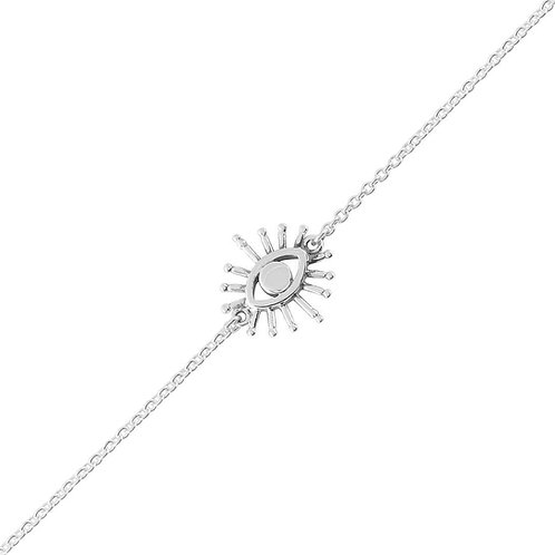 Higher Consciousness Sterling Silver Bracelet
