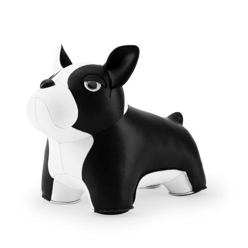 Zuny Bookend Classic French Bulldog 2 Black