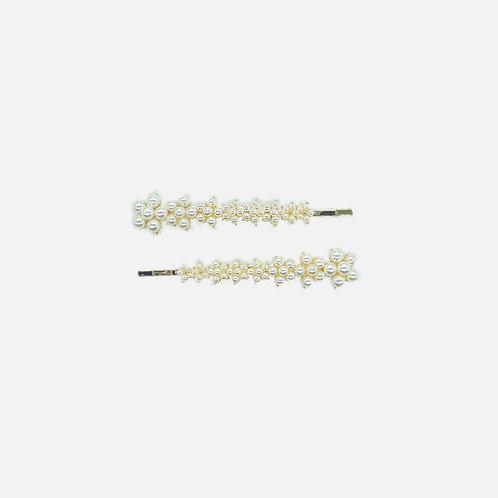 Korean Pearl Bobby Pin Set - MOOII