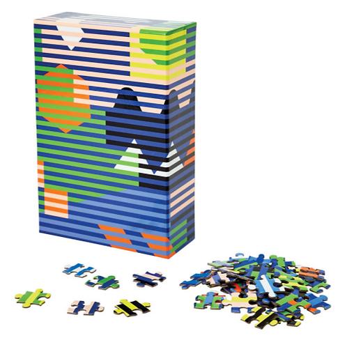 Dusen Dusen Puzzle Jigsaw Areaware --Lenticular