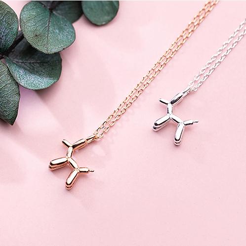 Sterling Silver Poodle Necklace - MOOII