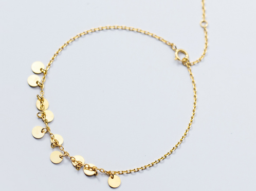 Gold-Tone Multi Disc Bracelet - MOOII