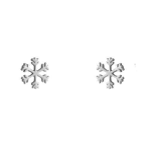 Katiyana Snowflake Sterling Silver Studs