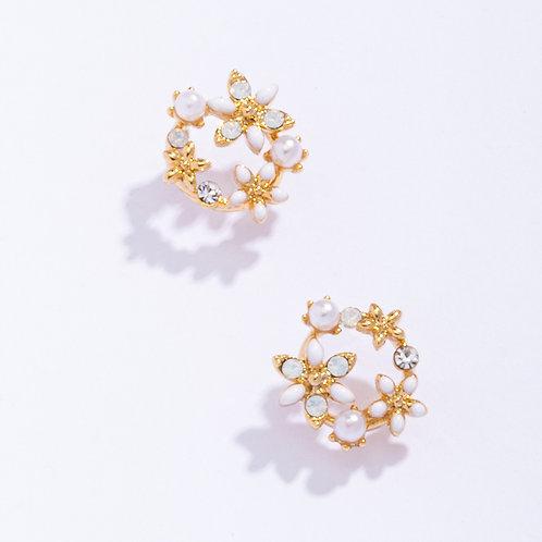 Star Flowers Earrings - MOOII