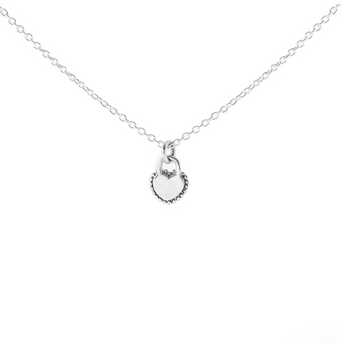 Locket Your Heart Sterling Silver Necklace