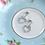 Thumbnail: MOOII Multi-Crystal Heart-Shaped Dangle Earring