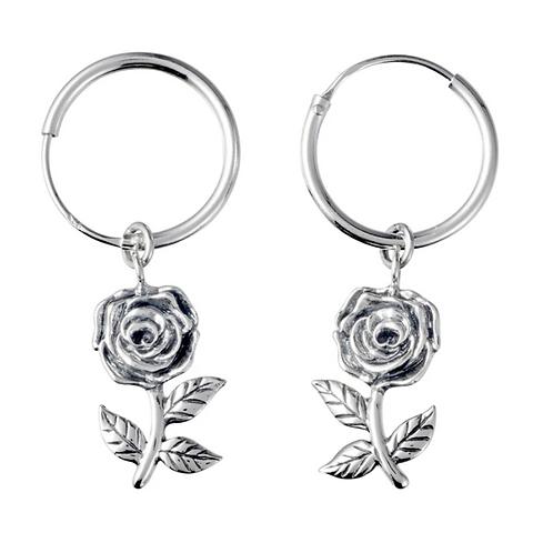 Sterling Silver Regal Rose Sleeper
