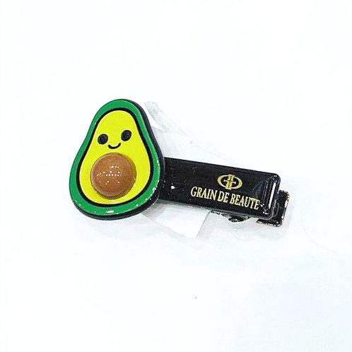 MOOII Resin Hair Clip Avocado