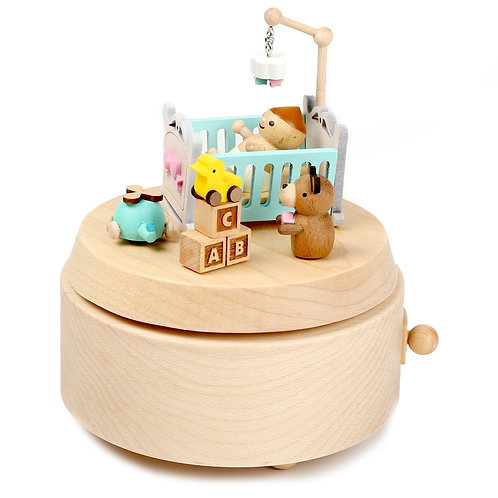 Wooderful Life Infanette Music Box