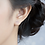 Thumbnail: Little Sweet Heart Sterling Silver Ear Studs