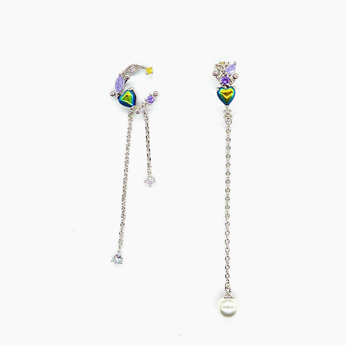 Arc and Arch Drop Earring