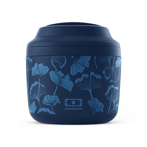 Monbento: Mb Element Graphic (550ml) - Ginkgo Blue
