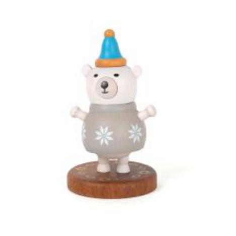 Wooderful Life Polar Bear Bobbler