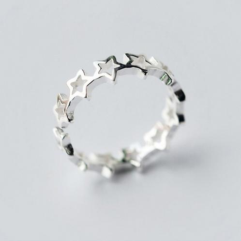 Round Cutout Star Ring - MOOII
