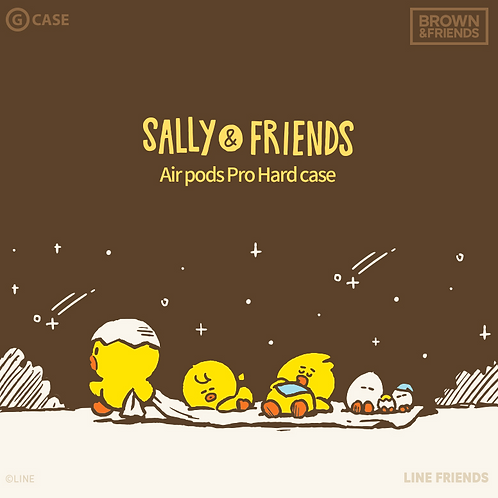 SALLY&FRIENDS AirPods Pro Hard Case