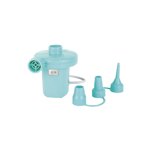 Royal Turquoise Electric Air Pump