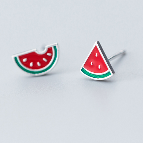 A Bite of Watermelon Ear Studs - MOOII