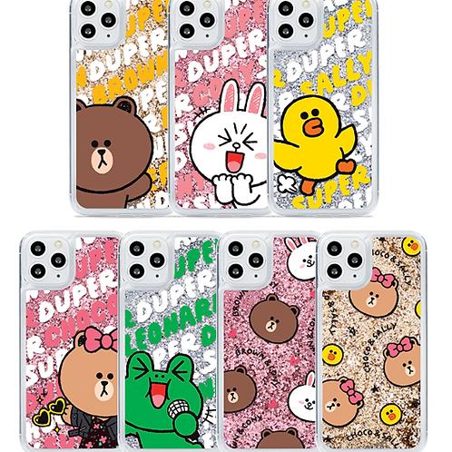 Line Friends Sparkle Case for iPhone 11,11 Pro