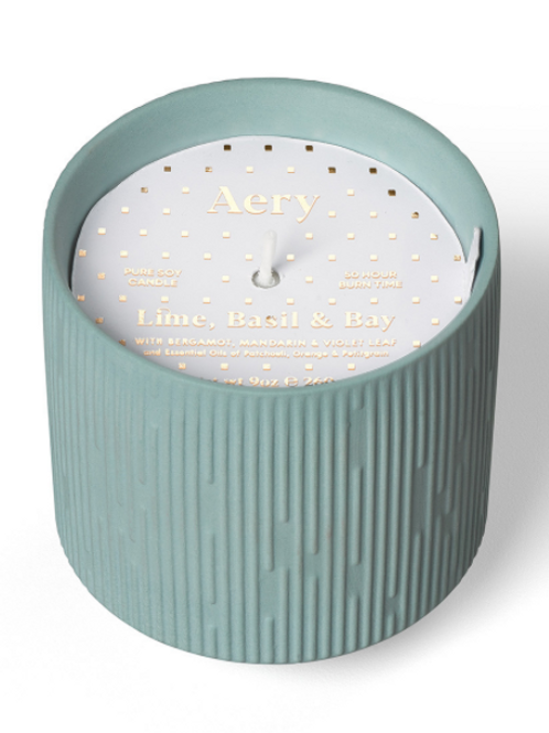 Aery Living Clay Ceramic Plant Pot Candle