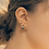 Thumbnail: Garden Curve Bar Earrings - Mooii