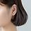 Thumbnail: Enamel Carrots Vege 925 Silver Ear Studs - Mooii