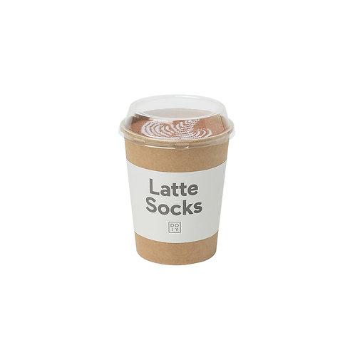 DOIY Socks Latte