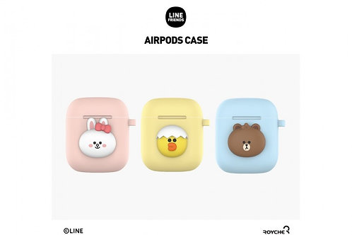 Line Friends mini Brown and Friends AirPods Case Cover