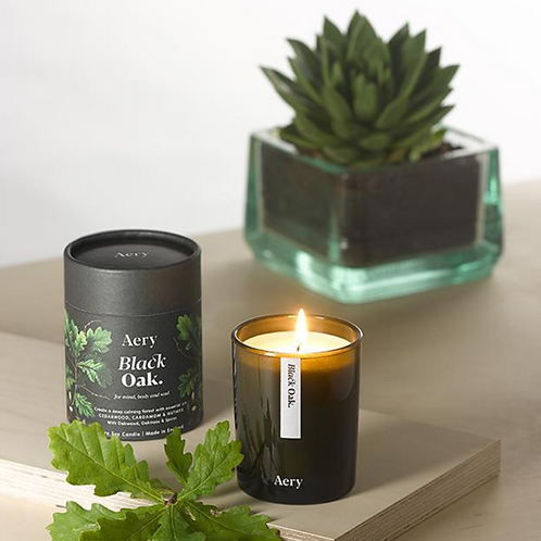 Aery Living : Botanical Green 200g Soy Candle