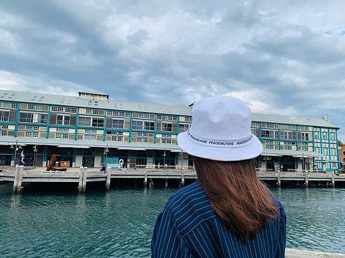 Korean Letters Fisherman Hats Premium