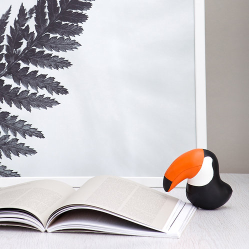 Paperweight Toucan Black Zuny
