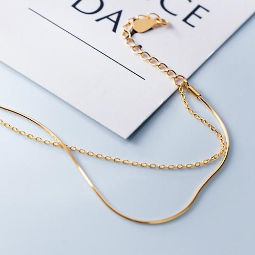 Double Chain Bracelet - MOOII