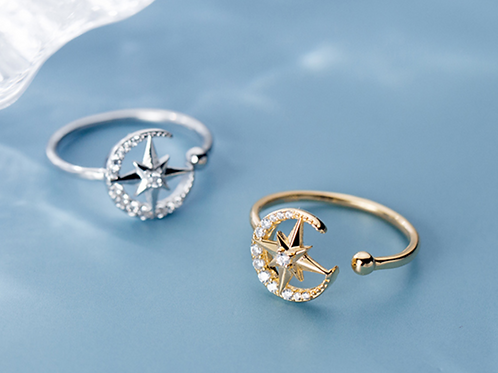 Compass Celestial Ring - MOOII