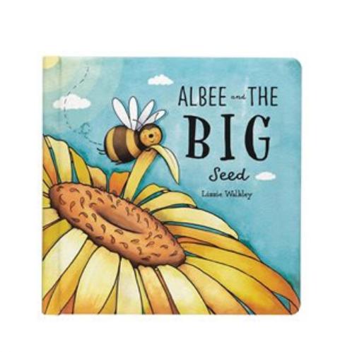 Jellycat Albee & The Big Seed Book (Bashful Bee Book)